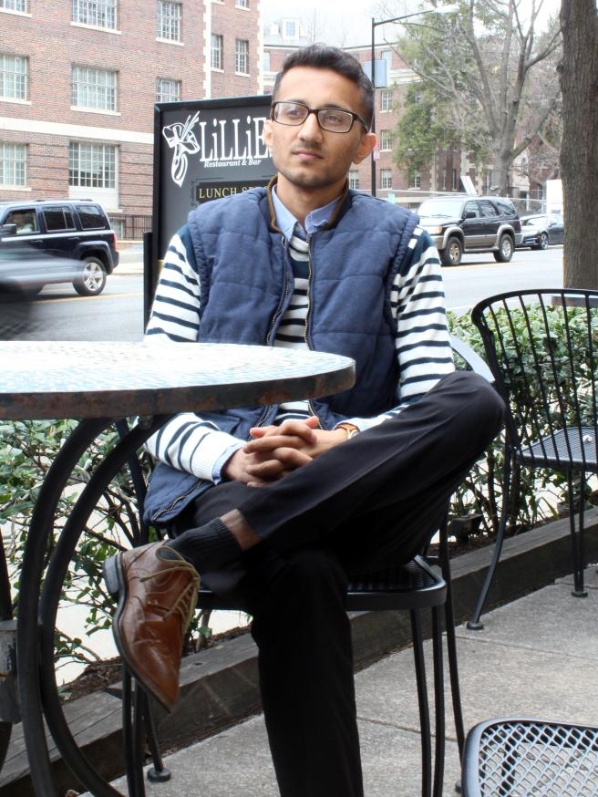 Ehsan Rehan now lives in Washington, D.C.  RNS photo by Madiha Waris Qureshi